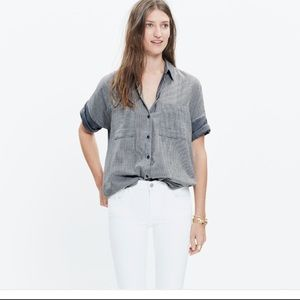 Madewell Oversized Short Sleeved Top Small